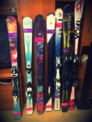 Распродажа горных лыж